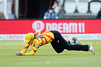 Emily Windsor of the Trent Rockets takes the catch in the outfield to dismiss Tryon during London Spirit Women vs Trent Rockets Women, The Hundred Cricket at Lord's Cricket Ground on 29th July 2021