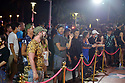 MIAMI BEACH, FL - APRIL 18: Atmosphere outside as fans awaited Jake Paul arrival for his afterparty hosted by Celebrity Sports Entertainment (CSE) at The Villa Casa Casuarina At The Former Versace Mansion on April 18, 2021 in Miami Beach, Florida. Jake Paul made an appearance to his afterparty to celebrate his win after defeating Ben Askren in a first round TKO bout yesterday inside Mercedes-Benz Stadium in Atlanta.  ( Photo by Johnny Louis / jlnphotography.com )
