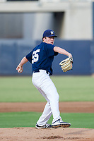 AZL Brewers starting pitcher Brendan Murphy (55) delivers a pitch to the plate against the AZL Padres 2 on September 2, 2017 at Maryvale Baseball Park in Phoenix, Arizona. AZL Brewers defeated the AZL Padres 2 2-0. (Zachary Lucy/Four Seam Images)