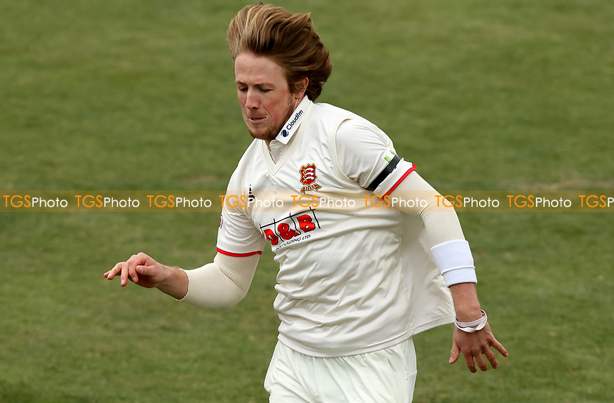 Ben Allison of Essex races after a ball during Essex CCC vs Worcestershire CCC, LV Insurance County Championship Group 1 Cricket at The Cloudfm County Ground on 10th April 2021