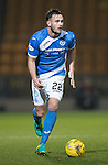 St Johnstone v Stenhousemuir…21.01.17  McDiarmid Park  Scottish Cup<br />Keith Watson<br />Picture by Graeme Hart.<br />Copyright Perthshire Picture Agency<br />Tel: 01738 623350  Mobile: 07990 594431