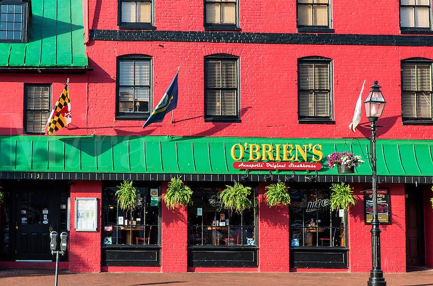 O'Brian's Steakhouse, Annapolis, Maryland, USA
