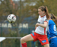 Zulte Waregem's midfielder Summer Rogiers  pictured during a female soccer game between SV Zulte - Waregem and KRC Genk on the 8 th matchday of the 2020 - 2021 season of Belgian Scooore Women s SuperLeague , saturday 21 th of November 2020  in Zulte , Belgium . PHOTO SPORTPIX.BE | SPP | DIRK VUYLSTEKE