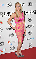 """Kiri Bloore attends the """"My Hero"""" Raindance Film Festival UK film premiere, Vue Piccadilly cinema, Lower Regent Street, London, England, UK, on Friday 25 September 2015. <br /> CAP/CAN<br /> ©Can Nguyen/Capital Pictures"""