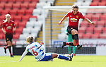 Katie Zelem of Manchester United Women and Kirsty Pearce of ReadingKatie Zelem of Manchester United Women and Kirsty Pearce of Reading