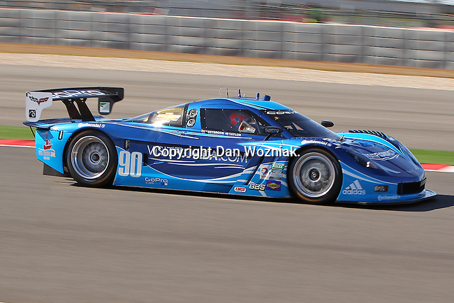 Ricky Taylor (90), Driver of Spirit of Daytona Racing Corvette in action during the Grand Am of the Americas, Rolex race at the Circuit of the Americas race track in Austin,Texas...