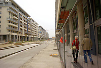 milano, nuovo quartiere rogoredo - santa giulia, periferia sud-est --- milan, new district rogoredo - santa giulia, south-east periphery