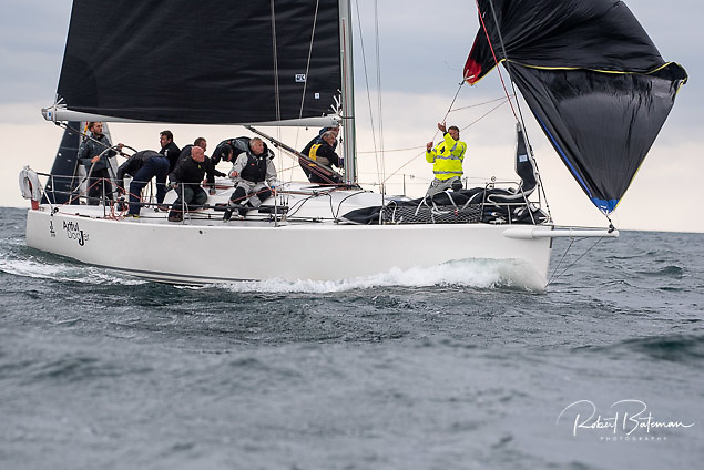 South coast J109 sisterships Artful Dodjer (above) and Jelly Baby (below) are both racing round the Fastnet Rock this Saturday