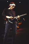 Dire Straits - Mark Knopfler performing live in 1985 in London England.