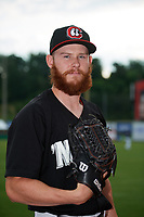 Chattanooga Lookouts pitcher Tyler Jay (41) poses for a photo before a game against the Jackson Generals on May 9, 2018 at AT&T Field in Chatttanooga, Tennessee.  Chattanooga defeated Jackson 4-2.  (Mike Janes/Four Seam Images)