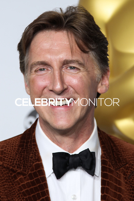 HOLLYWOOD, LOS ANGELES, CA, USA - MARCH 02: Malcolm Clarke at the 86th Annual Academy Awards - Press Room held at Dolby Theatre on March 2, 2014 in Hollywood, Los Angeles, California, United States. (Photo by Xavier Collin/Celebrity Monitor)