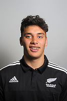 Peter Umaga-Jensen. The 2015 New Zealand Schools rugby union team headshots at NZ Sports Institute, Palmerston North, New Zealand on Friday, 18 September 2015. Photo: Dave Lintott / lintottphoto.co.nz