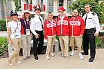 Kirby Cote, Jana Murphy, and Tony Walby, London 2012.<br /> Highlights from the Flag Raising Ceremony at Canada House // Faits saillants de la cérémonie de lever du drapeau à la Maison du Canada. 08/26/2012.
