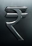 Illustrative image of rupee sign