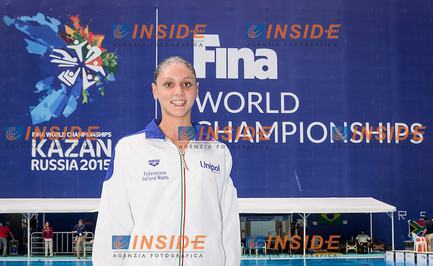 Solo Italy<br /> CERRUTI Linda<br /> Day9 01/87/2015<br /> XVI FINA World Championships Aquatics<br /> Synchro<br /> Kazan Tatarstan RUS July 24 - Aug. 9 2015 <br /> Photo Giorgio Scala/Deepbluemedia/Insidefoto