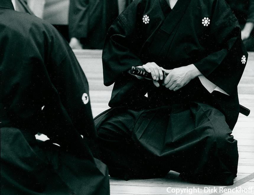 Iaido-Turnier in Tokyo, Japan