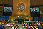 General Assembly Seventy-third session, 14th plenary meeting<br /> <br /> <br /> Her Excellency Yldiz POLLACK-BEIGLEMinister for Foreign Affairs of Suriname
