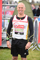 Judge Rinder<br /> at the start of the 2016 London Marathon, Blackheath, Greenwich London<br /> <br /> <br /> ©Ash Knotek  D3108 24/04/2016