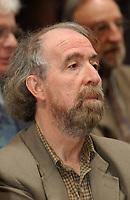 FILE PHOTO - Gerald Larose<br />  en 2002<br /> <br /> PHOTO : Jacques Pharand - Agence Quebec Presse