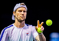 Rotterdam, The Netherlands, 27 Februari 2021, ABNAMRO World Tennis Tournament, Ahoy, Qualyfying match: Andreas Seppi (ITA)<br /> Photo: www.tennisimages.com/henkkoster