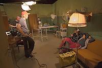 Europe/Pologne/Lodz: Ecole Supérieure d'art Cinématographique, Televisuel et Théatral rue Targowa ou furent formés Polanski, Wajda… plateau de Tournage