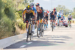 Primoz Roglic (SLO) Jumbo-Visma near the finish of Stage 14 of La Vuelta d'Espana 2021, running 165.7km from Don Benito to Pico Villuercas, Spain. 28th August 2021.     <br /> Picture: Luis Angel Gomez/Photogomezsport   Cyclefile<br /> <br /> All photos usage must carry mandatory copyright credit (© Cyclefile   Luis Angel Gomez/Photogomezsport)