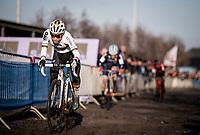 CX World Champion Sanne Cant (BEL/Iko-Crelan)<br /> <br /> Azencross Loenhout 2019 (BEL)<br />  <br /> ©kramon
