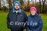 Enjoying a stroll in the Killarney National park on Friday, l to r: John and Accumpta Somers.