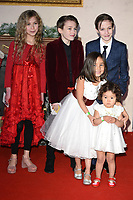 """Kitty Peterkin, Riley White, Lochlin White, <br /> arriving for the """"Surviving Christmas with the Relatives"""" premiere at the Vue Leicester Square, London<br /> <br /> ©Ash Knotek  D3461  21/11/2018"""