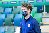BELFAST, NORTHERN IRELAND - MARCH 28: Christian Cappis of the United States during a game between Northern Ireland and USMNT at Windsor Park on March 28, 2021 in Belfast, Northern Ireland.