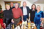 Brid Murphy (The Spa), Colm Mangan, Colin and John Murphy, Rose Daly (Knockanish) and Paula Mangan (Tralee) enjoying the evening in Bella Bia on Saturday night.