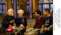 ©2002 KATHY HUTCHINS / HUTCHINS PHOTO.THE OTHER HALF.LOS ANGELES, CA 4/17/02.MARTY INGES, SHIRLEY JONES, .MARIO LOPEZ & DORIAN GREGORY