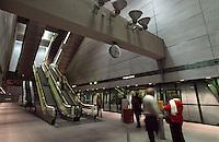Dänemark, Kopenhagen, in der Metro