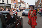 Lichfield Greenhill Bower. Lichfield Staffordshire. England. Procession around the town.