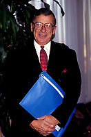 FILE PHOTO - Gerard D Levesque en avril 1992<br /> <br /> PHOTO :   Agence quebec Presse