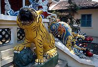 Trang Hung Dao-Tempel in Saigon, Vietnam