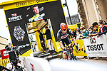 Roger Kluge (GER) Lotto-Soudal powers off the start ramp during Stage 5 of the 2021 Tour de France, an individual time trial running 27.2km from Change to Laval, France. 30th June 2021.  <br /> Picture: A.S.O./Charly Lopez | Cyclefile<br /> <br /> All photos usage must carry mandatory copyright credit (© Cyclefile | A.S.O./Charly Lopez)