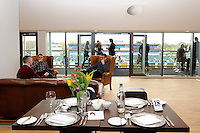 20130216 Copyright onEdition 2013©.Free for editorial use image, please credit: onEdition..General view of the Tulip Club before the Premiership Rugby match between Saracens and Exeter Chiefs at Allianz Park on Saturday 16th February 2013 (Photo by Rob Munro)..For press contacts contact: Sam Feasey at brandRapport on M: +44 (0)7717 757114 E: SFeasey@brand-rapport.com..If you require a higher resolution image or you have any other onEdition photographic enquiries, please contact onEdition on 0845 900 2 900 or email info@onEdition.com.This image is copyright onEdition 2013©..This image has been supplied by onEdition and must be credited onEdition. The author is asserting his full Moral rights in relation to the publication of this image. Rights for onward transmission of any image or file is not granted or implied. Changing or deleting Copyright information is illegal as specified in the Copyright, Design and Patents Act 1988. If you are in any way unsure of your right to publish this image please contact onEdition on 0845 900 2 900 or email info@onEdition.com
