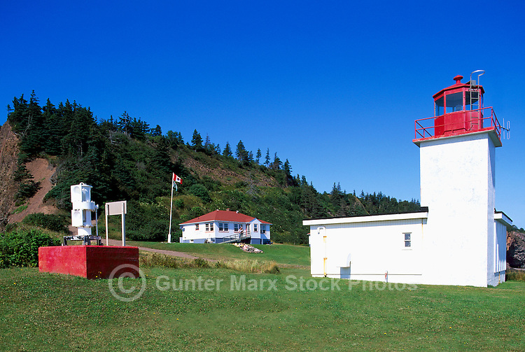 Cape d'Or Lighthouse, NS, Nova Scotia, Canada - Fundy Shore & Annapolis Valley Region
