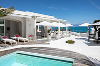 BNPS.co.uk (01202 558833)<br /> Pic: CapVillas/BNPS<br /> <br /> Outdoor space<br />  <br /> A glamorous villa that has hosted a string of celebrities including Winston Churchill, Pablo Picasso, the Duke of Windsor and Edith Piaf is on the market for £9m (10.5m euros).<br /> <br /> The exquisite Villa La Garoupe Beach sits on a natural sand beach and has its own private beach on one of the French Riviera's most exclusive spots.<br /> <br /> It was once a renowned beach club and the list of names connected to the property are endless. French singer Edith Piaf hosted her engagement party to Theo Sarapo there and it was also visited by former US President Harry Truman, writer Ernest Hemingway, Bond actor Sean Connery and movie star Marlene Dietrich.<br /> <br /> The property in Cap d'Antibes has four bedrooms suitable for six to eight people, three bathrooms and a living area overlooking the sea.