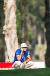 Rafael Cabrera Bello of Spain ponders his next move during the 58th UBS Hong Kong Golf Open as part of the European Tour on 10 December 2016, at the Hong Kong Golf Club, Fanling, Hong Kong, China. Photo by Marcio Rodrigo Machado / Power Sport Images
