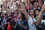 Royal Wedding of Prince Harry and Megham Markle, 19th May 2018. Windsor Berkshire. Using iphones to record event