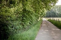 Walebroekstraat<br /> <br /> Eddy Merckxroute passing through the legends' birthtown of Meensel-Kiezegem <br /> <br /> Cycling in Flanders (BEL)<br /> cycling hotspots in Brabant<br /> <br /> ©kramon