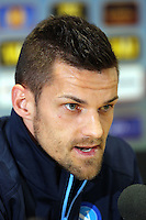 Christian Maggio on Napoli during the press conference