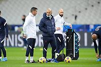 17th November 2020; Stade de France, Paris,  France; UEFA National League international football, France versus Sweden; France warm up for  Bachir Nehar (Fra)