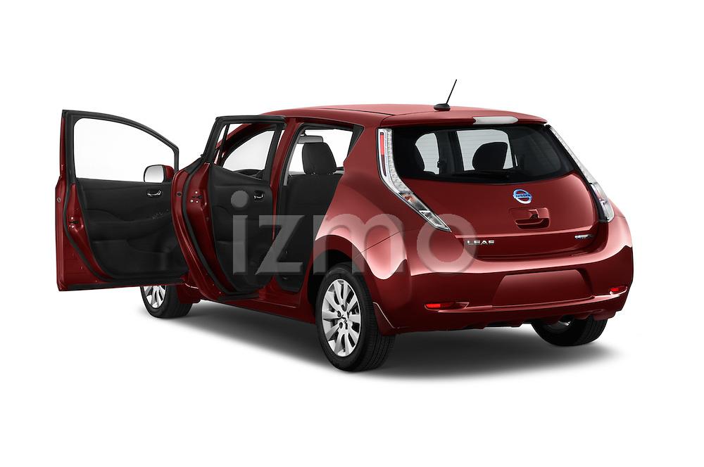 Car images of 2017 Nissan LEAF S 5 Door Hatchback Doors
