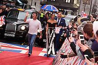 "Simon Cowell, Alesha Dixon and David Walliams<br /> arrives to film for ""Britain's Got Talent"" 2017 at the Palladium, London.<br /> <br /> <br /> ©Ash Knotek  D3222  29/01/2017"