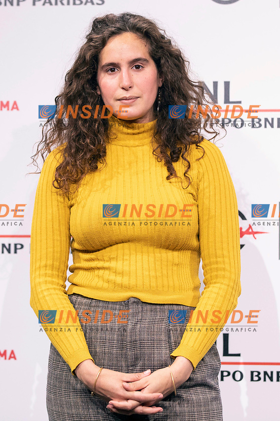 Director Lina Soualem poses for photographers for the photo call of the film Their Algeria during the 15th edition of Rome film Fest.<br /> Rome (Italy), 16/10/2020<br /> Photo Pool Insidefoto