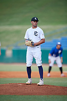 Kruise Newman (6) of Madison Southern High School in Richmond, KY during the Perfect Game National Showcase at Hoover Metropolitan Stadium on June 20, 2020 in Hoover, Alabama. (Mike Janes/Four Seam Images)