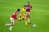 3rd October 2020; Riverside Stadium, Middlesbrough, Cleveland, England; English Football League Championship Football, Middlesbrough versus Barnsley; Alex Mowatt of Barnsley FC in action